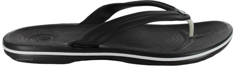 Japonki Crocs Crocband Flip czarne11033001
