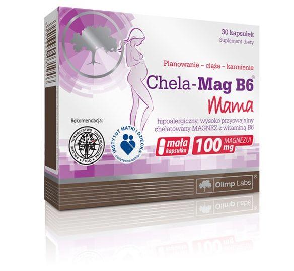 Chela-Mag Mama 30kaps