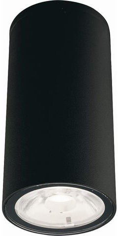 Plafon zewnętrzny Edesa LED S 9110 Nowodvorski Lighting czarna oprawa w kształcie tuby