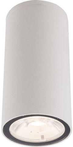 Plafon zewnętrzny Edesa LED S 9111 Nowodvorski Lighting biała oprawa w kształcie tuby