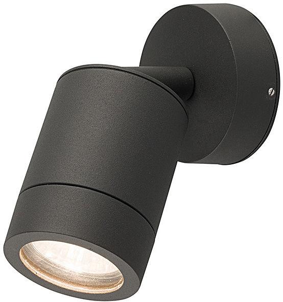 Kinkiet zewnętrzny Fallon 9552 Nowodvorski Lighting ruchoma grafitowa oprawa ścienna