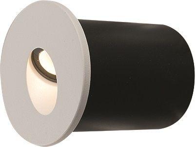 Oprawa schodowa Oia LED 9103 Nowodvorski Lighting okrągła wpuszcza na w kolorze białym