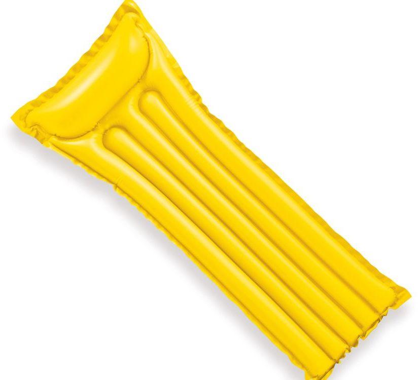 Materac dmuchany do pływania 59703 Intex żółty