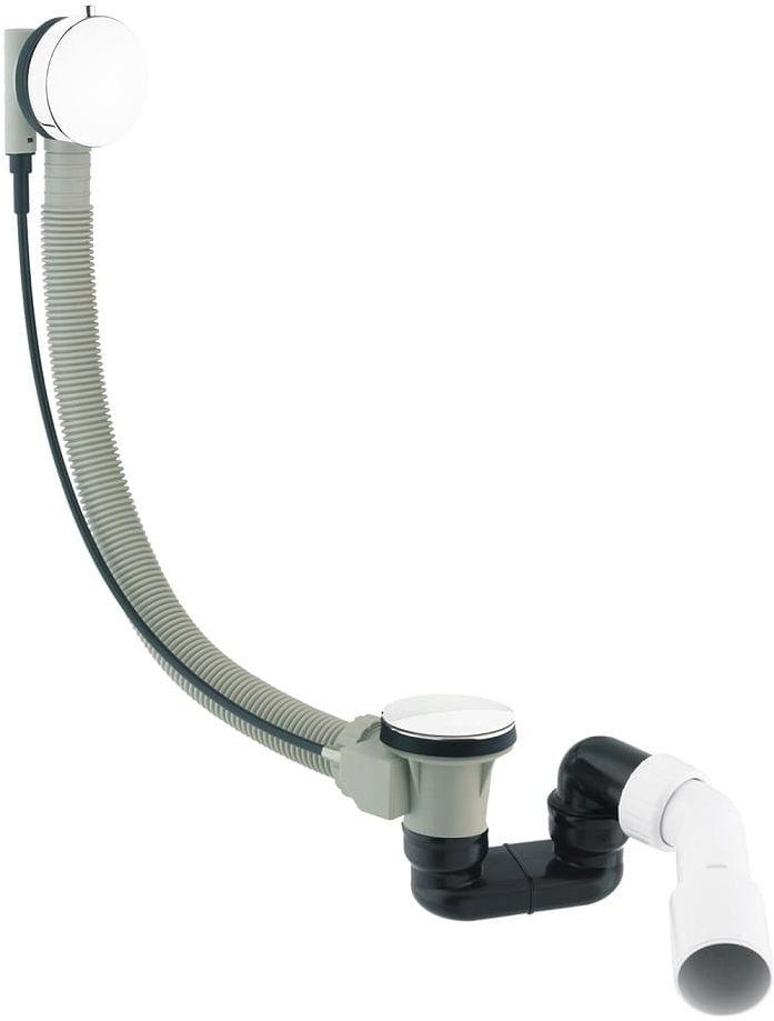 Omnires CGS syfon wannowy przelewowo-odpływowy biały połysk TK104-PLUS-3.35+64-SBP wysyłka 24h