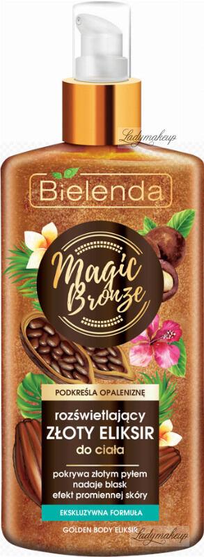 Bielenda - MAGIC BRONZE - Jelly Golden Elixir - Rozświetlający złoty eliksir do ciała - 150 ml