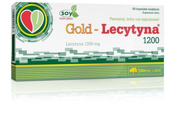 Gold Lecytyna 1200 60kap