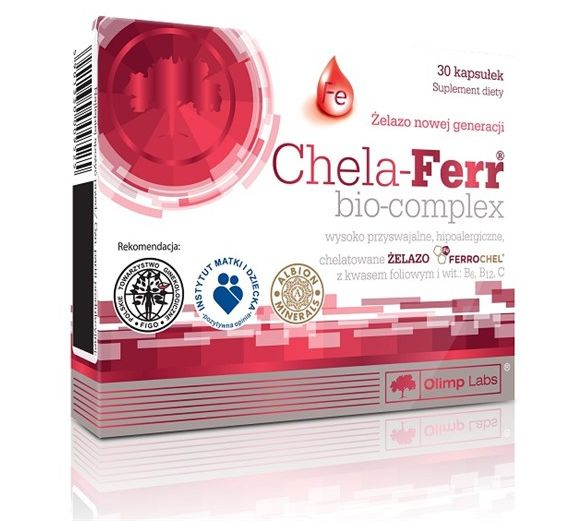 CHELA-FERR BIO-COMPLEX 30kap