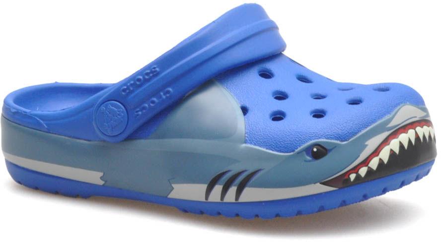 Klapki Crocs 206271/4JL Niebieskie