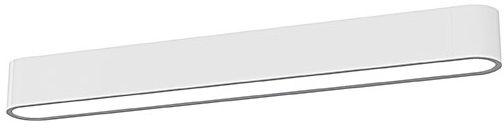 Plafon Soft LED 9541 Nowodvorski Lighting podłużna oprawa natynkowa w kolorze białym