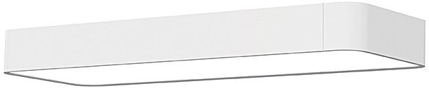 Plafon Soft LED 9534 Nowodvorski Lighting uniwersalna oprawa natynkowa w kolorze białym