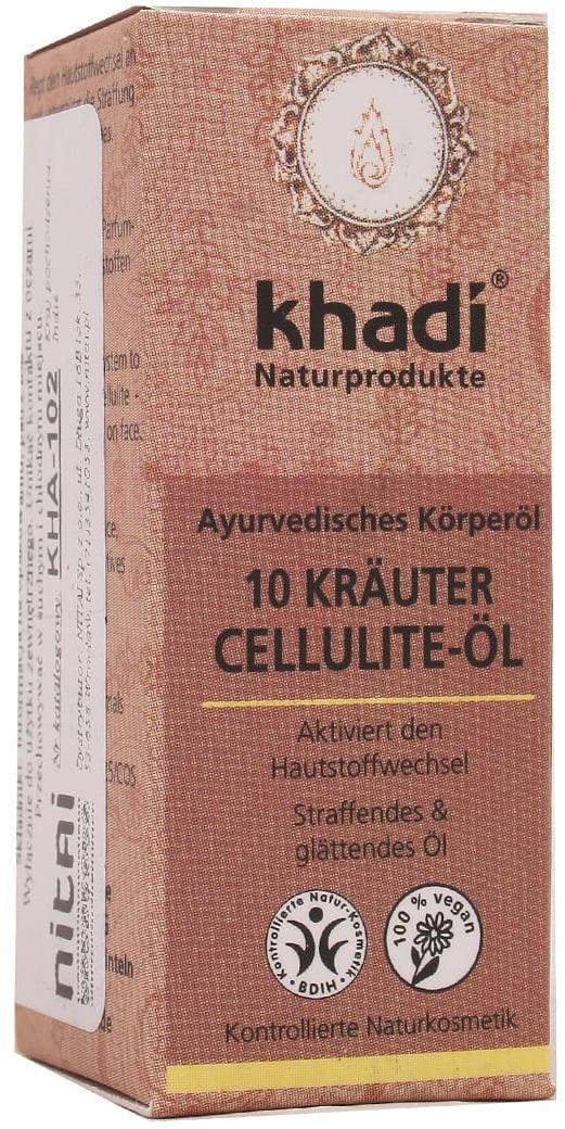 Olejek z 10 ziół antycellulitowy - Khadi - 10ml