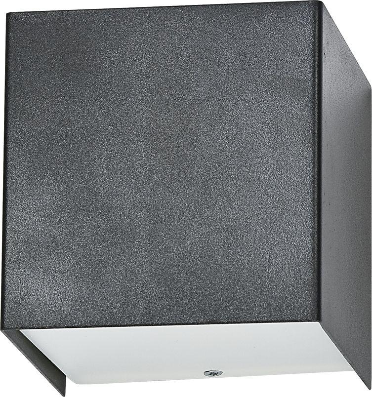 Kinkiet Cube 5272 Nowodvorski Lighting grafitowa oprawa w kształcie sześcianu