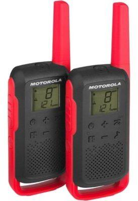 Radiotelefon PMR MOTOROLA T62 Talkabount Czerwony>>Teraz w zestawie do 70% TANIEJ. Sprawdź!