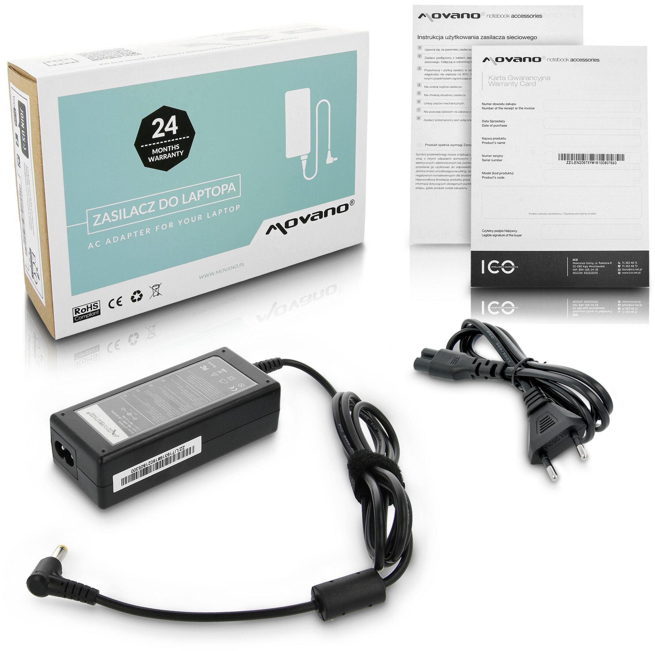 Zasilacz ładowarka LIT19316 do Fujitsu-Siemens Lifebook T580