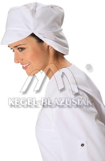 Czapka z siatką na włosy