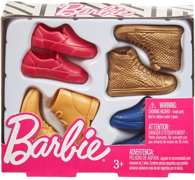 Barbie - Modne buty dla Kena GHW73 GJN53