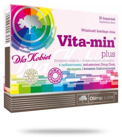 Olimp Vita-Min Plus dla kobiet 30 kapsułek