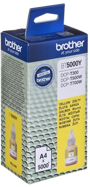 Tusz Brother BT5000Y (oryginał BT-5000Y; żółty)