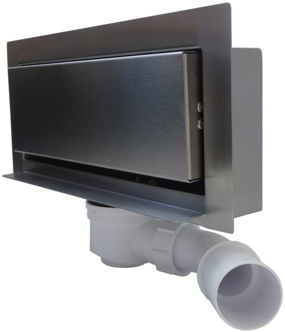 Kesmet Modern odwodnienie ścienne 30 cm pastikowy syfon 300KGF_p