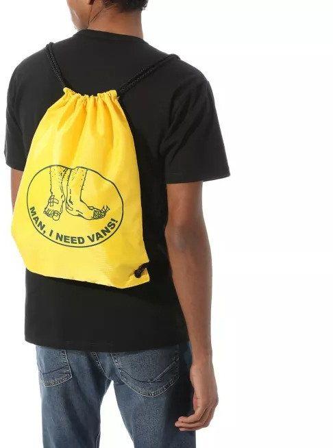 Worek Vans Benched Bag - lemon chrome - lemon chrome
