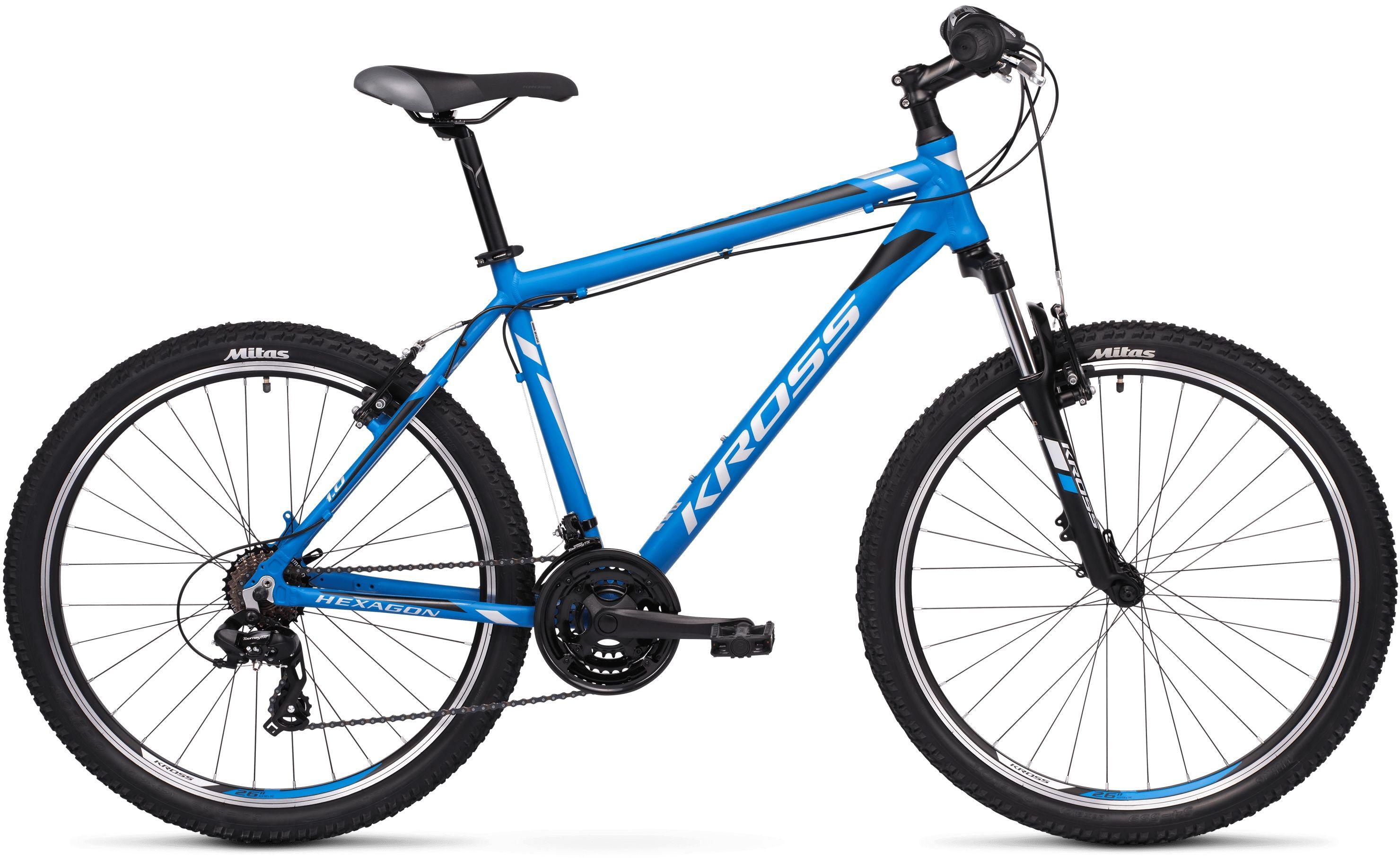 Rower Kross HEXAGON 1.0 26 niebieski 2020