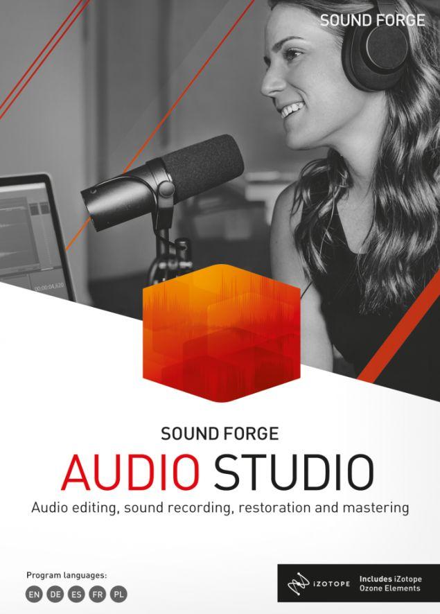 SOUND FORGE Audio Studio 15 - ESD - Edu - Certyfikaty Rzetelna Firma i Adobe Gold Reseller