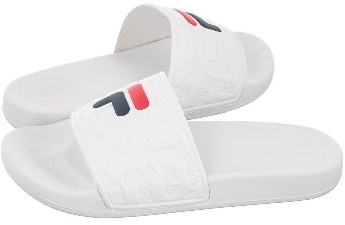 Klapki Fila Baywalk Slipper Wmn White 1011246.1FG (FI58-a)