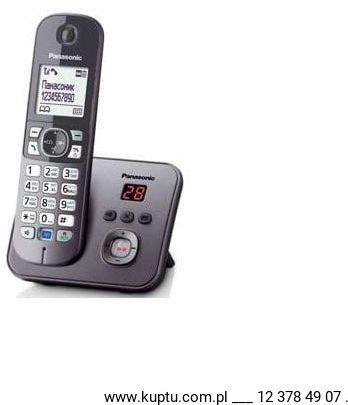 KX-TG6821 PDM, telefon bezprzewodowy DECT