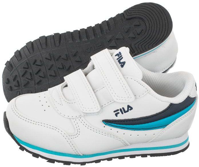 Buty Fila Orbit Velcro Infants White/Fila Navy 1011080.92E (FI59-a)