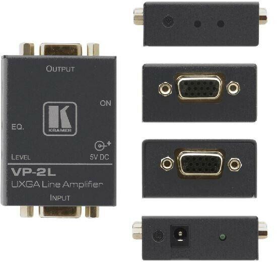 Kramer VP-2L 1:1 sterownik dla sygnałów grafiki komputerowej (Hd15)