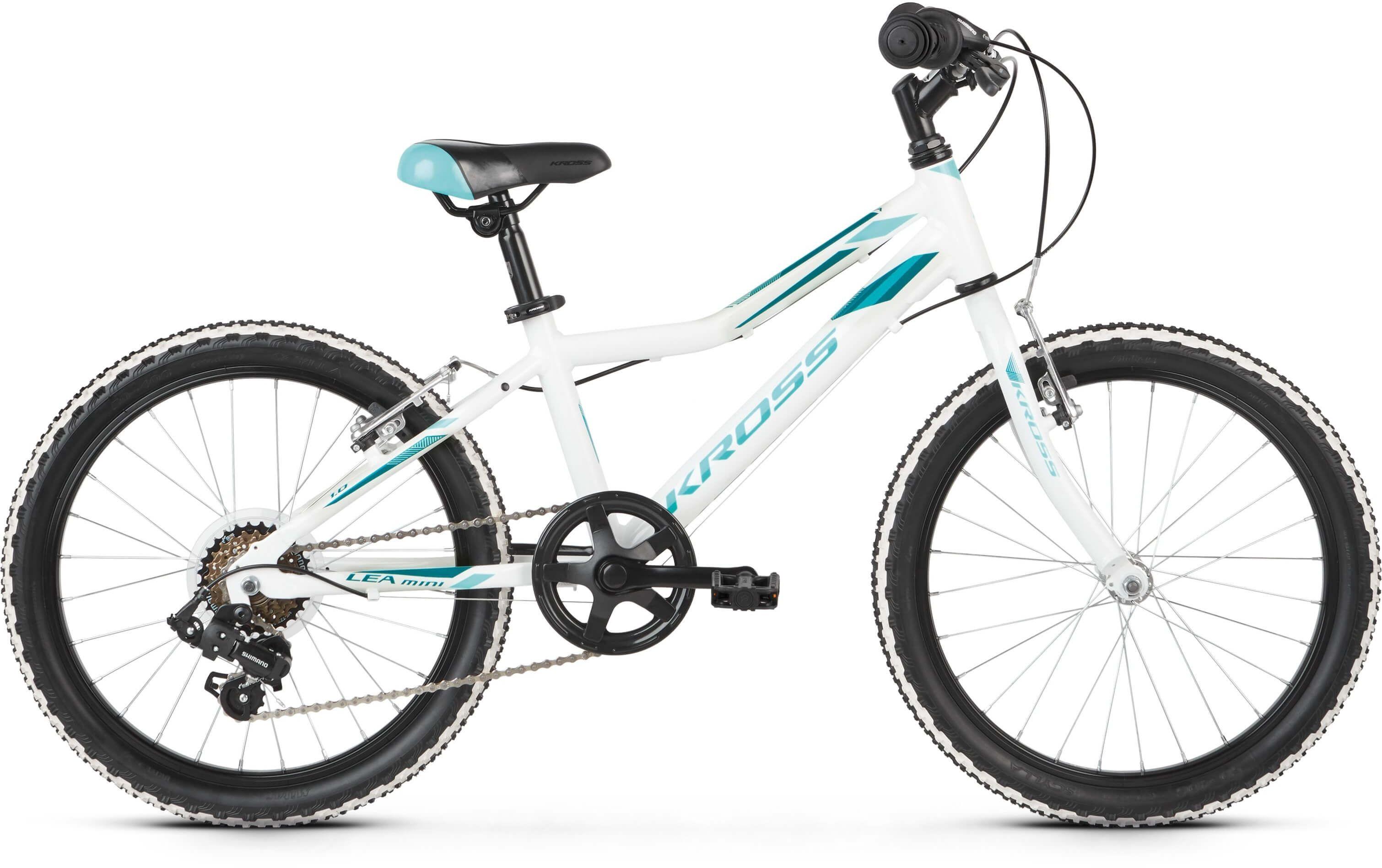 """Rower Kross LEA MINI 1.0 SR biały 20"""" 2021"""