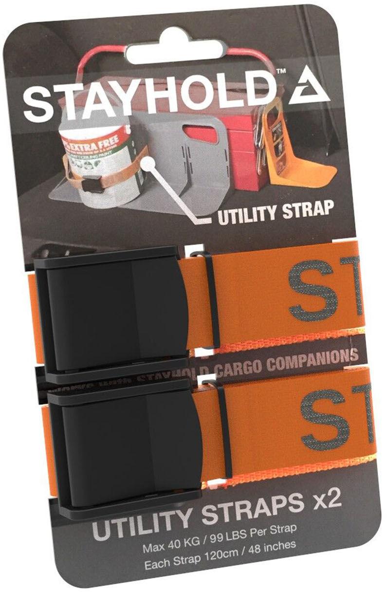 Mango Elastyczne paski Stayhold Utility Straps pomarańczowe