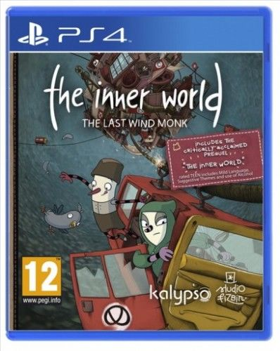 The Inner World The Last Wind Monk PS 4