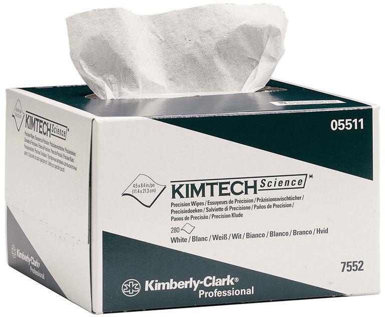 Czyściwo nisko pylne 280 szt. Kimberly Clark KIMTECH SCIENCE celuloza białe