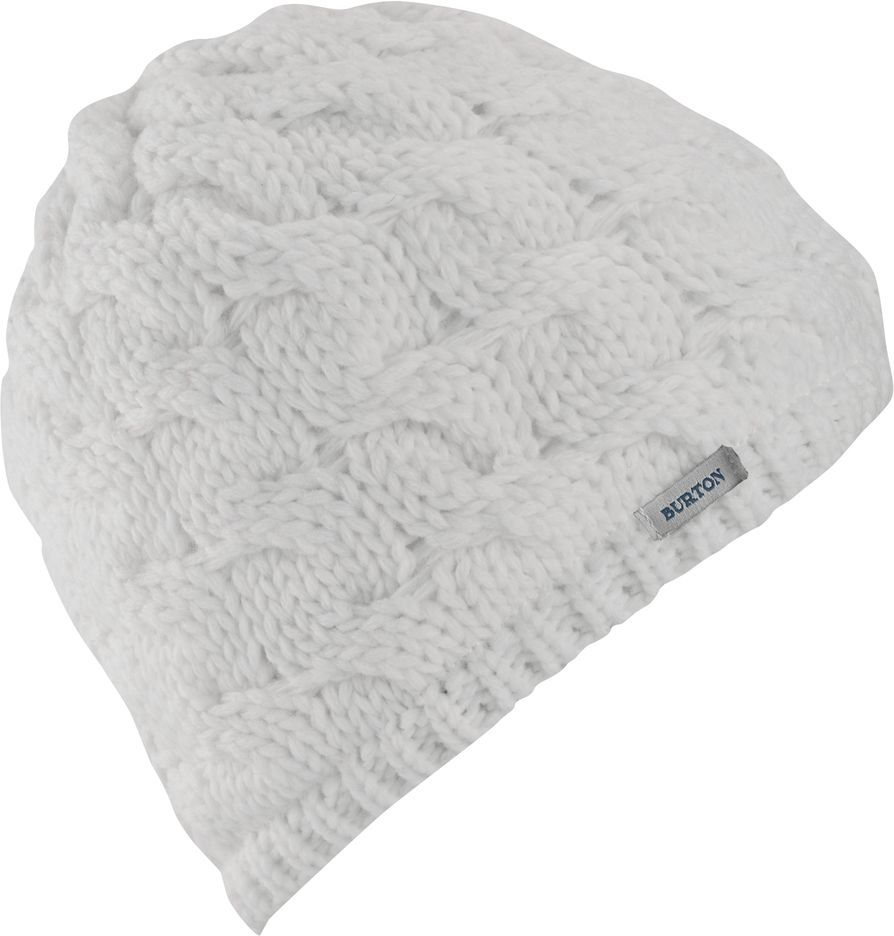 czapka zimowa damska BURTON BIRDIE BEANIE STOUT WHITE