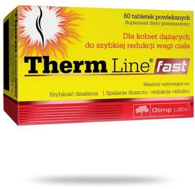 Olimp Therm Line Fast do szybkiej redukcji wagi ciała 60 tabletek