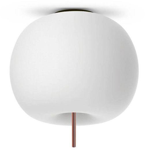 Kushi 16 Ø16 biały, miedź - Kundalini - lampa sufitowa