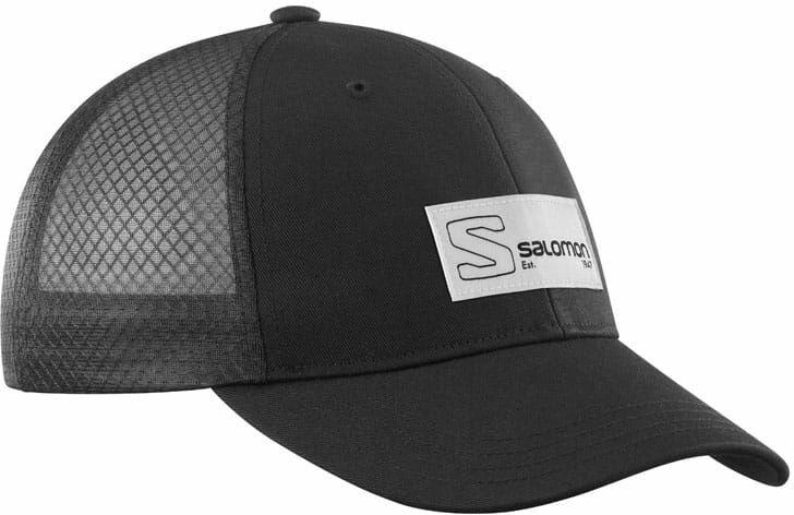 Czapka Salomon Trucker Curved Black /Black