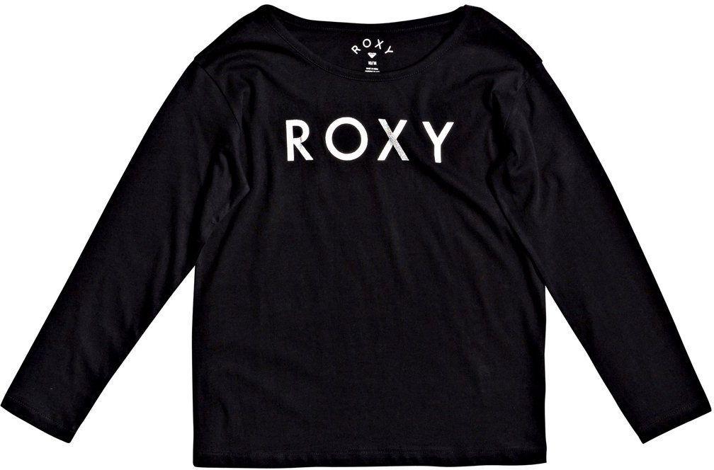 t-shirt dziecięcy ROXY THE ONE A GIRL Anthracite - KVJ0