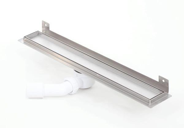 Kesmet Wall Silver Ceramic Tile odpływ ścienny 500KWF_p 500mm (syfon plastikowy)
