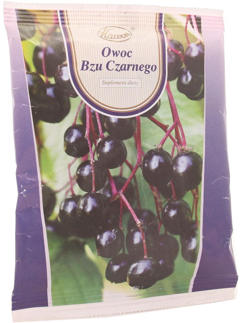 Owoc bzu czarnego - Kawon - 50 g