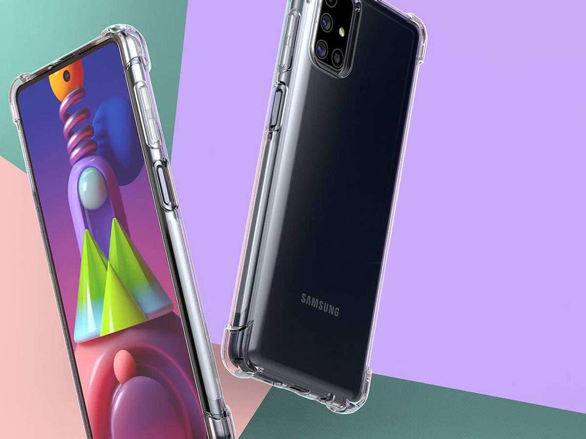 Etui pancerne ShockProof Alogy do Samsung Galaxy M51 przezroczyste
