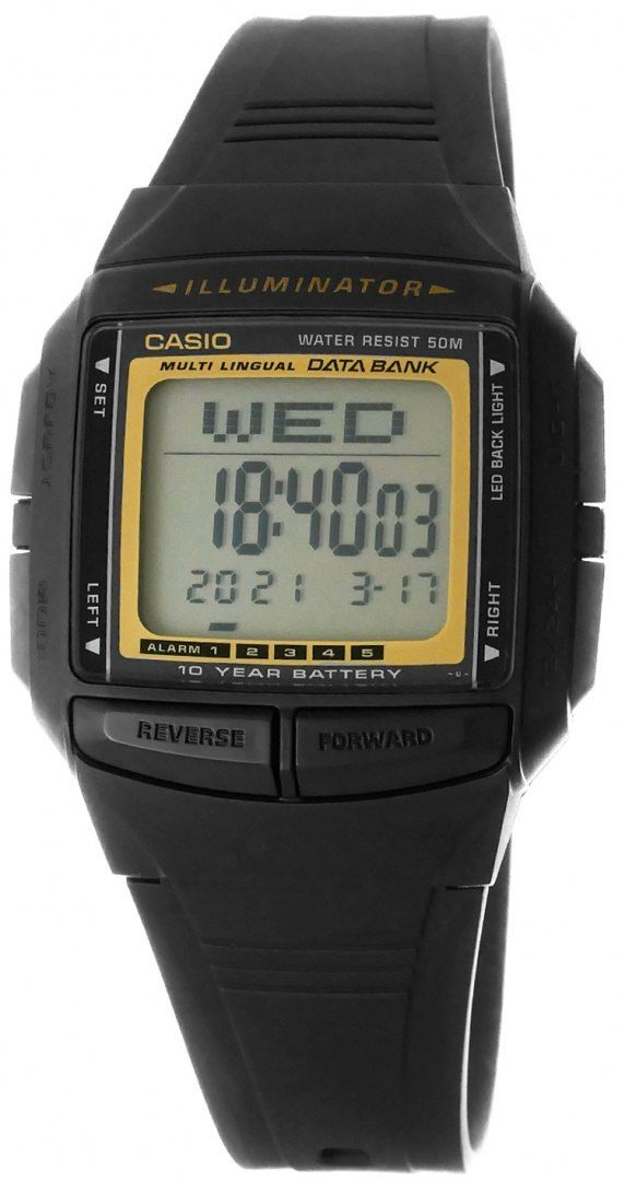 Zegarek Męski CASIO DB-36-9AVDF 10 Bar Do pływania