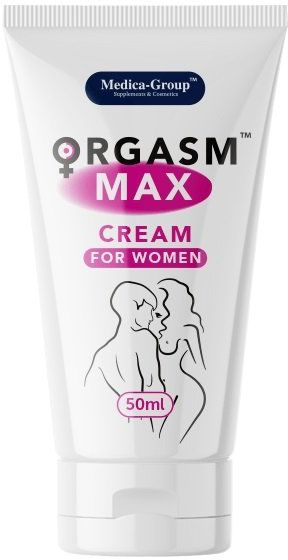 Żel/sprej - Orgasm Max cream for women 50 ml