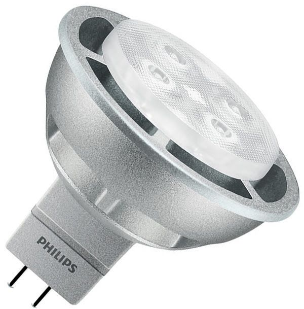 Philips LED 35W GU5.3 WW 12V MR16 36D Silver Dim/4