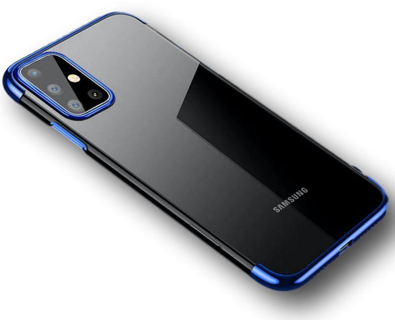Etui Blue Hybrid Samsung Galaxy A71
