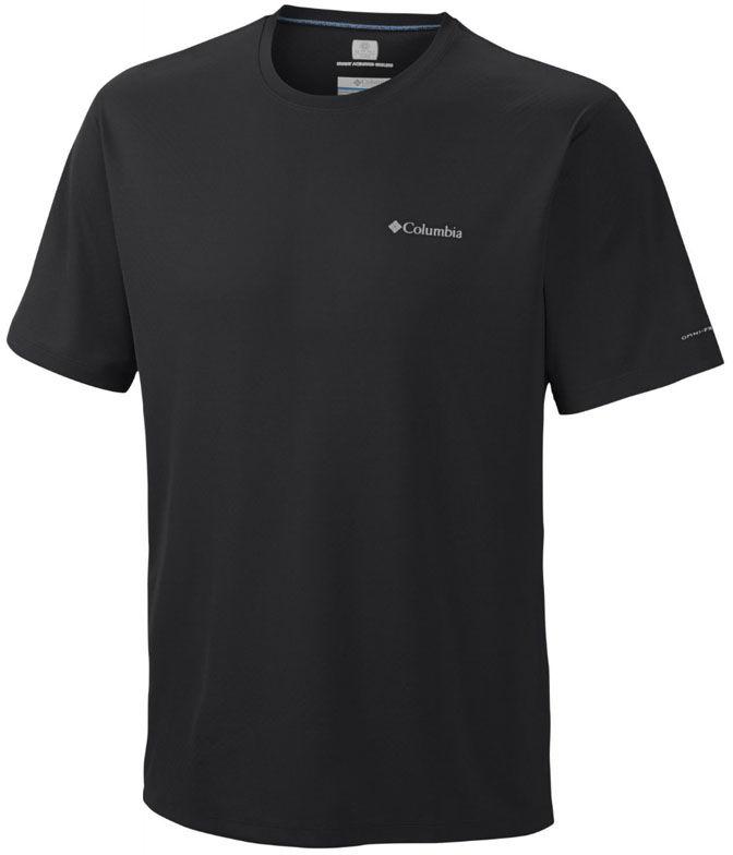 Koszulka termoaktywna Columbia Zero Rules Black K/R (AM6084 010)