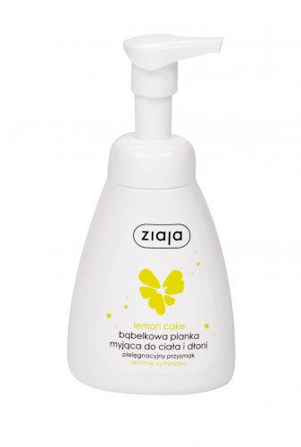 Ziaja Lemon Cake Hands & Body Foam Wash mydło w płynie 250 ml dla kobiet
