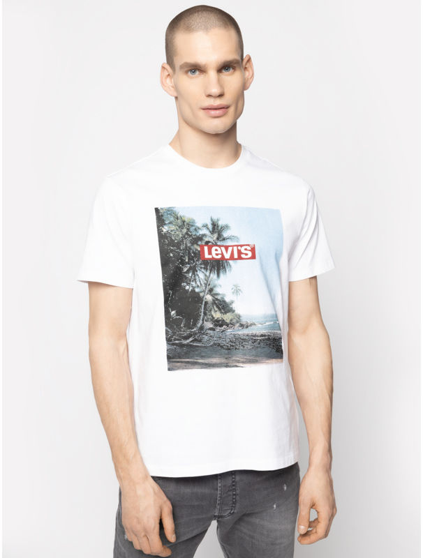 Levi''s  T-Shirt Graphic Tee 22491-0639 Biały Regular Fit