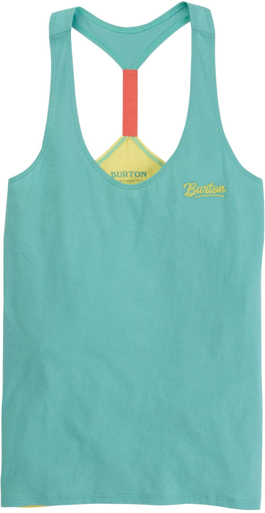 top damski BURTON BALTRA TANK Buoy Blue/Lemon Verbena